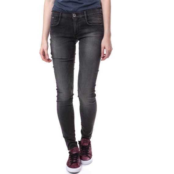 GAS - Γυναικείο τζιν παντελόνι Gas γκρι-μαύρο