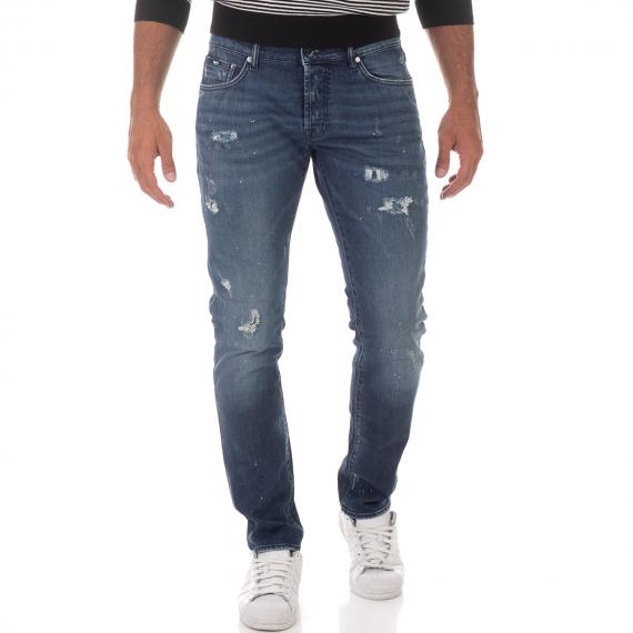 GAS - Ανδρικό jean παντελόνι GAS TASCHE NORTON CARROT μπλε