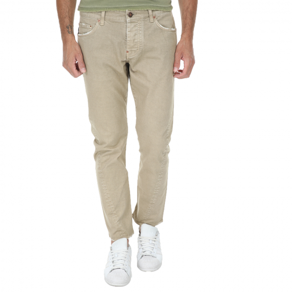 REIGN - Ανδρικό παντελόνι REIGN μπεζ