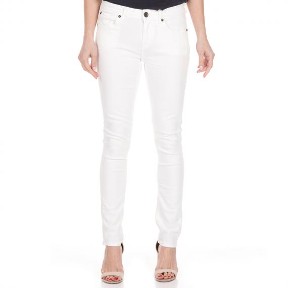 GARCIA JEANS - Γυναικείο jean παντελόνι GARCIA JEANS Rachelle λευκό