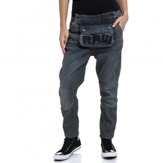 G-STAR RAW - Γυναικείο τζιν παντελόνι G-STAR RAW μπλε-γκρι