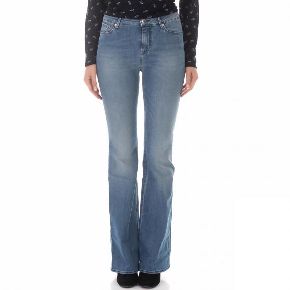 GAS - Γυναικείο jean παντελόνι GAS TASCHE CAMILIA μπλε