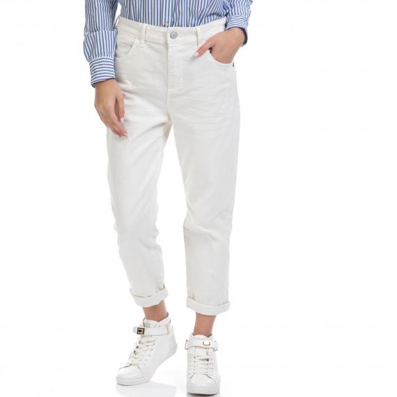 SCOTCH & SODA - Γυναικείο παντελόνι Johnny SCOTCH & SODA άσπρο