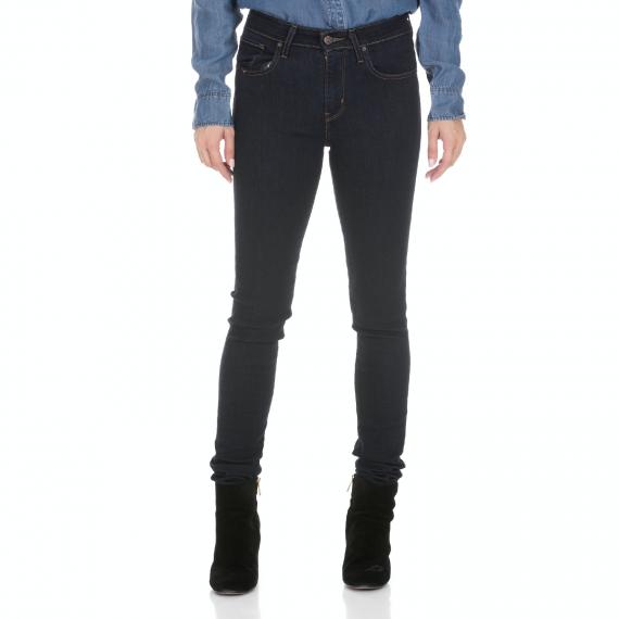 LEVI'S - Γυναικείο jean παντελόνι LEVI'S HIGH RISE SKINNY LONE WOLF μπλε