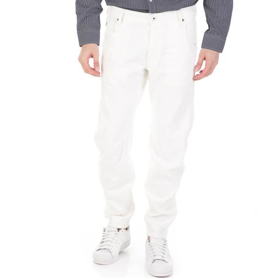 G-STAR RAW - Ανδρικό τζιν παντελόνι G-STAR RAW Arc 3D Tapered λευκό