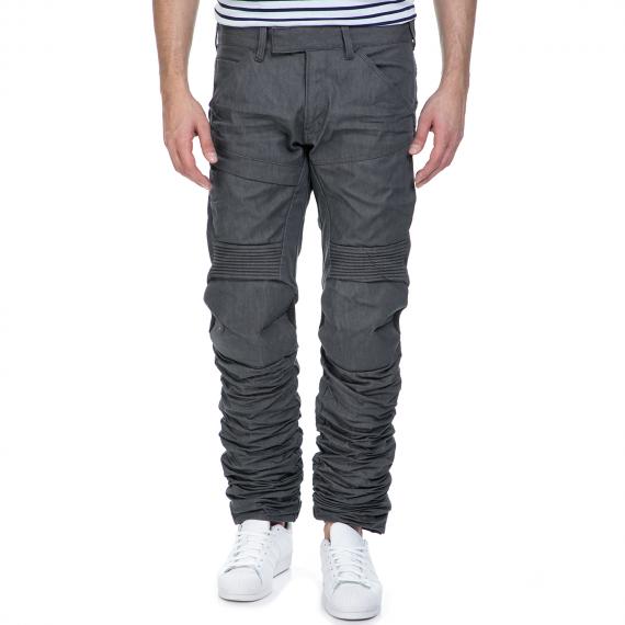G-STAR RAW - Ανδρικό παντελόνι G-Star Raw 5620 Motion 3D Tapered γκρι