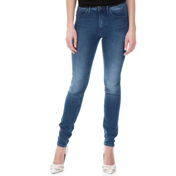 CALVIN KLEIN JEANS - Γυναικείο sculpted skinny τζιν παντελόνι Calvin Klein Jeans μπλε
