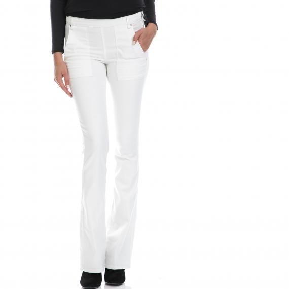 GUESS - Γυναικείο παντελόνι GUESS άσπρο
