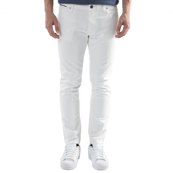 BROOKSFIELD - Ανδρικό τζιν παντελόνι Brooksfield λευκό
