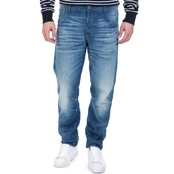 G-STAR RAW - Ανδρικό τζιν παντελόνι G-Star Raw Arc 3D Tapered μπλε με ξεβάμματα