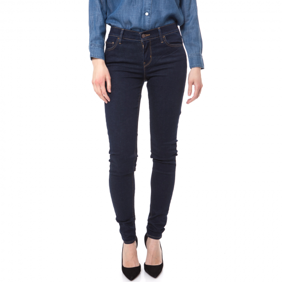 LEVI'S - Γυναικείο τζιν παντελόνι Levi's INNOVATION SUPER SKINNY σκούρο μπλε