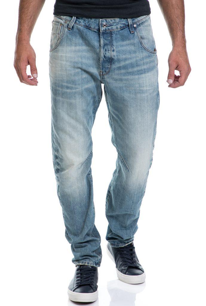 G-STAR RAW - Ανδρικό παντελόνι Arc 3D Tapered Prestored G-STAR RAW μπλε