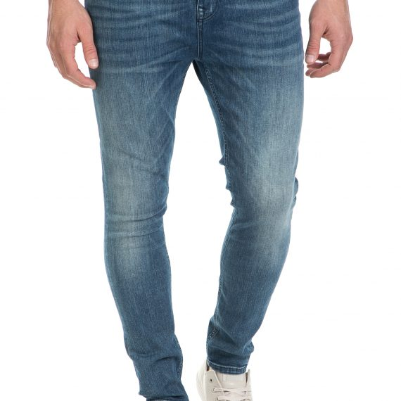 SCOTCH & SODA - Ανδρικό τζιν παντελόνι DART - DELFTS TATTOO SCOTCH & SODA μπλε