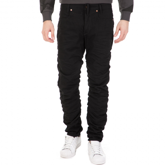 G-STAR RAW - Ανδρικό τζιν παντελόνι G-STAR RAW RE STAQ 3D TAPERED μαύρο