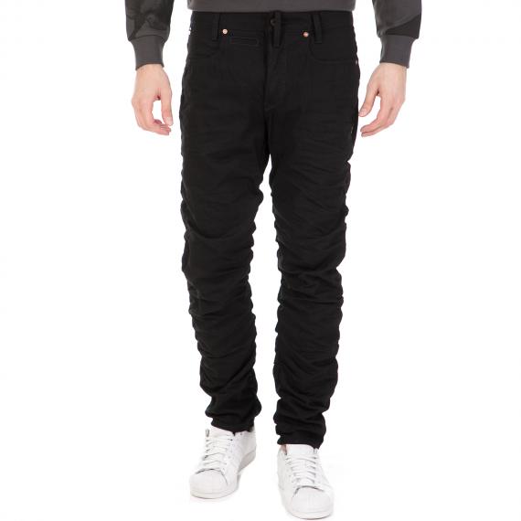 G-STAR RAW - Ανδρικό τζιν παντελόνι G-STAR RAW RE STAQ 3D TAPERED μαύρο