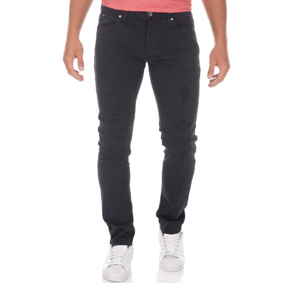 GAS - Ανδρικό jean παντελόνι GAS TASCHE NORTON μαύρο