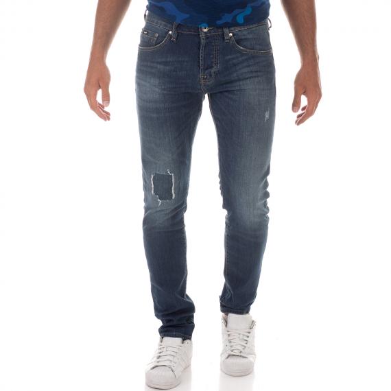 GAS - Ανδρικό jean παντελόνι TASCHE NORTON CARROT ENTROG. μπλε