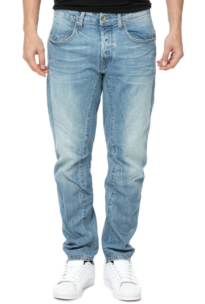 G-STAR RAW - Ανδρικό τζιν παντελόνι G-Star Raw A Crotch 3D Tapered μπλε