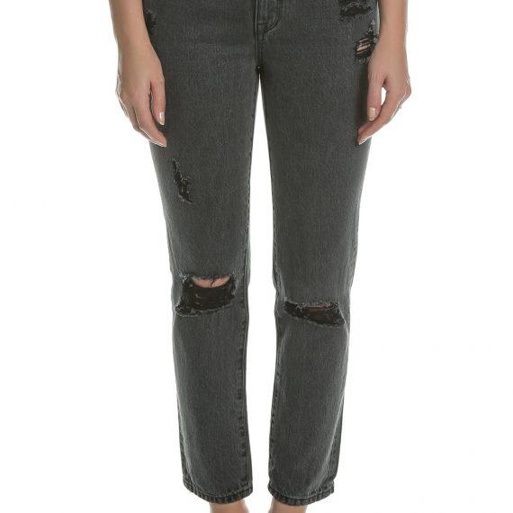 JUICY COUTURE - Γυναικείο ψηλόμεσο τζιν παντελόνι Juicy Couture μαύρο