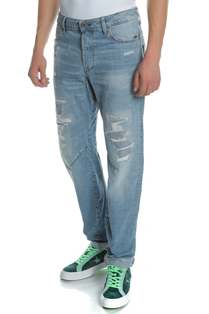 G-STAR RAW - Ανδρικό τζιν παντελόνι ARC 3D RELAXED TAPERED μπλε