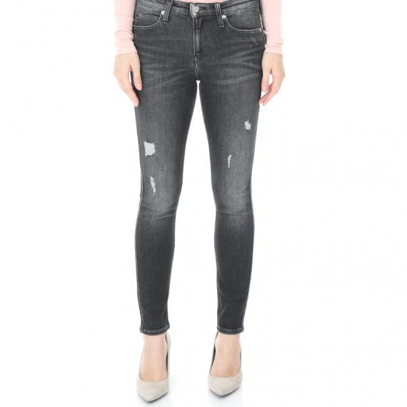CALVIN KLEIN JEANS - Γυναικείο jean παντελόνι CKJ 011: Mid Rise Skinny γκρι