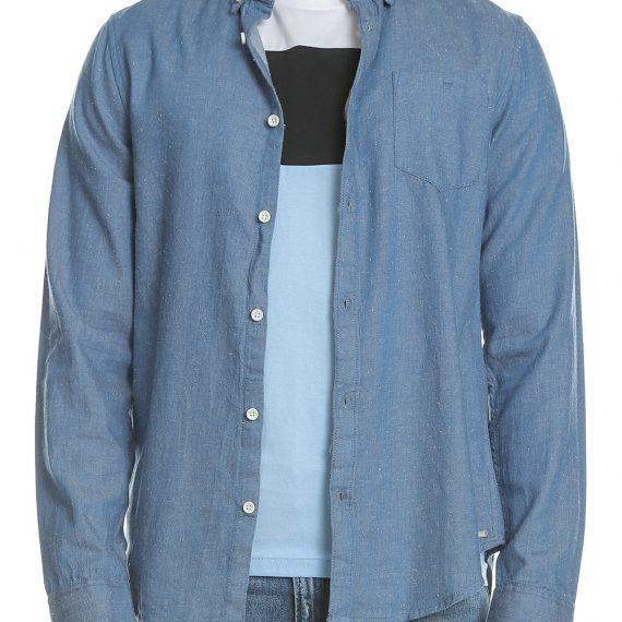 GARCIA JEANS - Ανδρικό μακρυμάνικο πουκάμισο GARCIA JEANS γαλάζιο