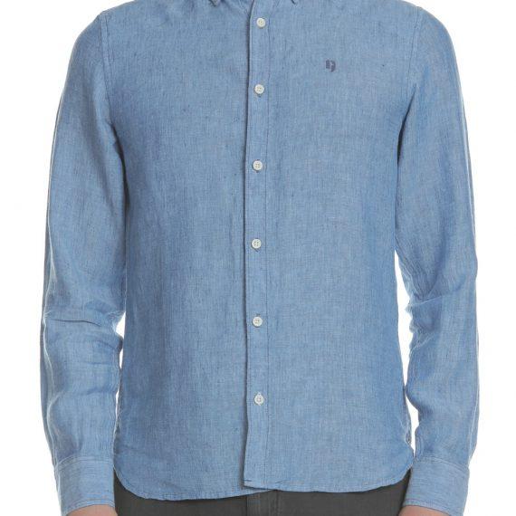 GARCIA JEANS - Ανδρικό μακρυμάνικο πουκάμισο Garcia Jeans μπλε