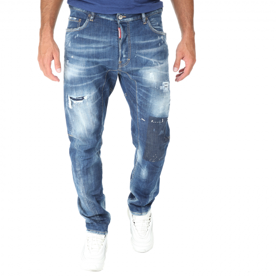 Dsquared2 - Ανδρικό jean παντελόνι Dsquared2 TIDY BIKER μπλε