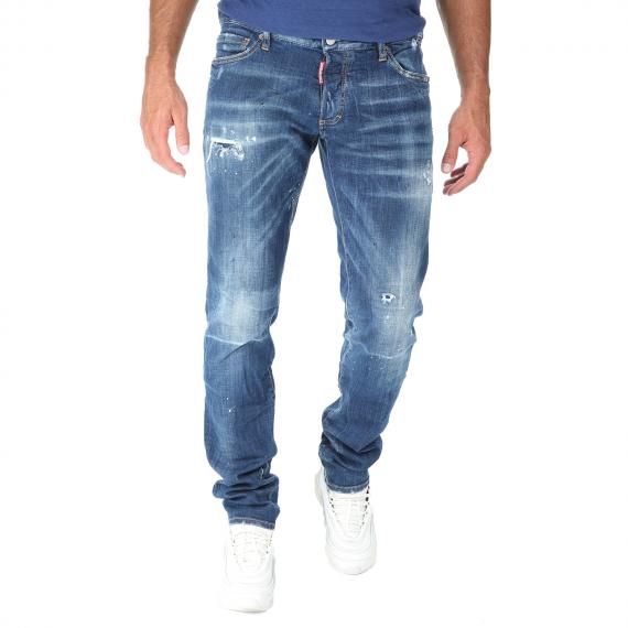 Dsquared2 - Ανδρικό jean παντελόνι Dsquared2 SLIM μπλε