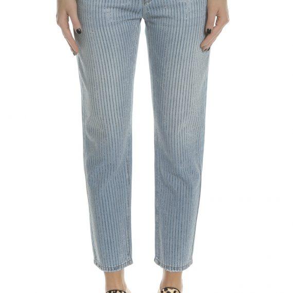 KARL LAGERFELD - Γυναικείο τζιν παντελόνι KARL LAGERFELD μπλε