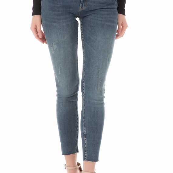 REIKO - Γυναικείο τζιν παντελόνι REIKO μπλε