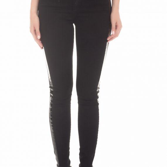 BYBLOS - Γυναικείο τζιν παντελόνι BYBLOS LOLLY BULL μαύρο