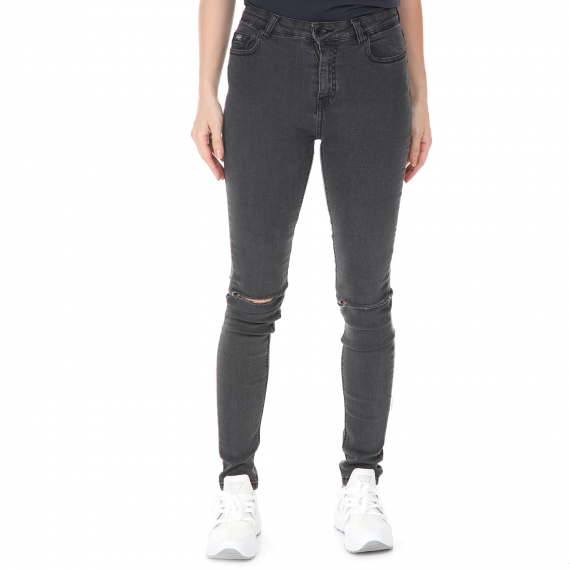 SUPERDRY - Γυναικείο jean παντελόνι SUPERDRY SOPHIA SKINNY μαύρο
