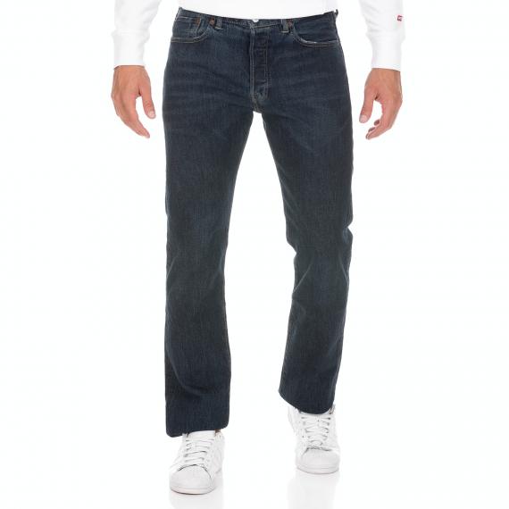 LEVI'S - Ανδρικό jean παντελόνι LEVI'S 501 Original TUCKER μπλε