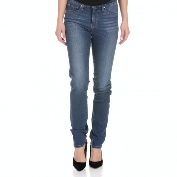 LEVI'S - Γυναικείο jean παντελόνι LEVI'S SHAPING SLIM DECOY μπλε