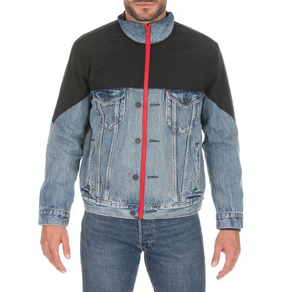 LEVI'S - Ανδρικό jacket LEVI'S UNBASIC MOCKNECK TRUCKER μπλε