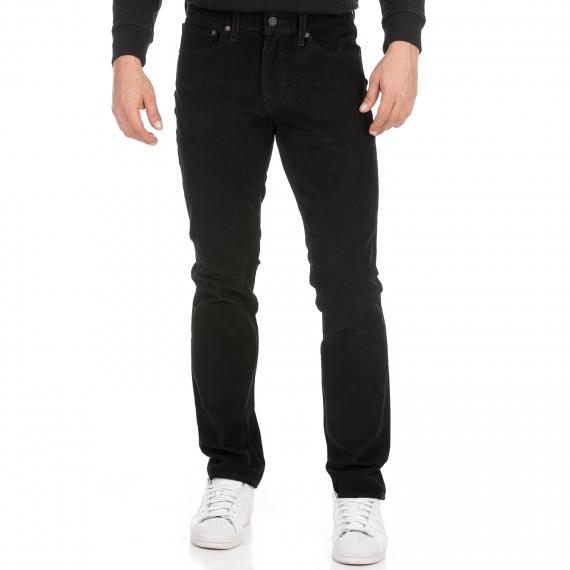 LEVI'S - Ανδρικό κοτλέ παντελόνι LEVI'S 511 SLIM MINERAL μαύρο