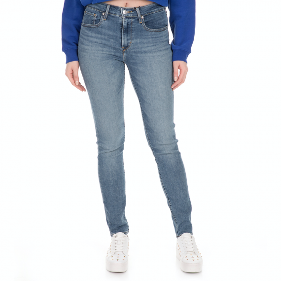 LEVI'S - Γυναικείο jean παντελόνι LEVI'S 721 HIGH RISE SKINNY QUICK STU μπλε