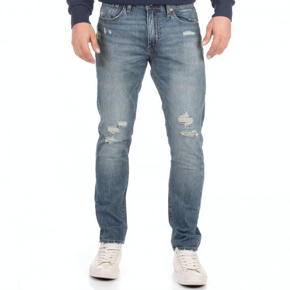 LEVI'S - Ανδρικό jean παντελόνι LEVI'S 512 SLIM TAPER COOKIECUTTER μπλε