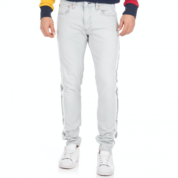LEVI'S - Ανδρικό jean παντελόνι LEVI'S 512 SLIM TAPER REFLECT STONE γκρι