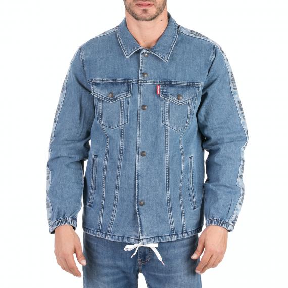 LEVI'S - Ανδρικό jean jacket LEVI'S TRACK COACH'S TRUCKER BUZZER μπλε