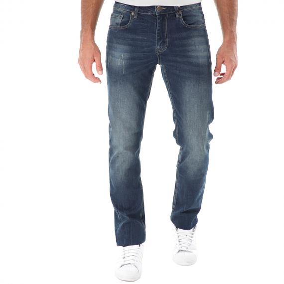GREENWOOD - Ανδρικό jean παντελόνι GREENWOOD μπλε