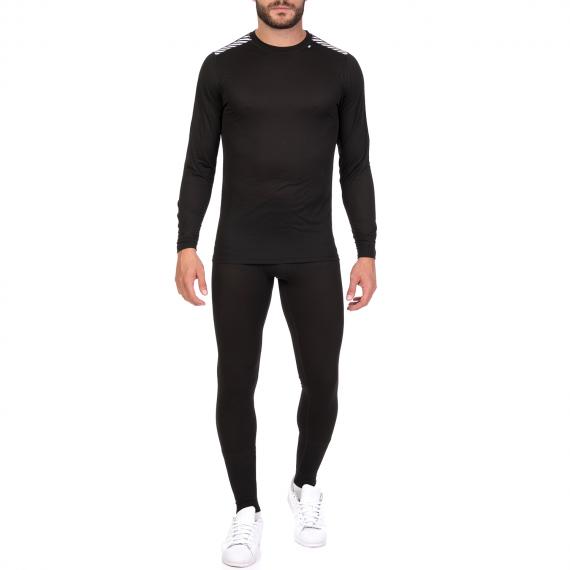 HELLY HANSEN - Ανδρικό σετ με κολάν και μπλούζα HELLY HANSEN COMFORT LIGHT μαύρο
