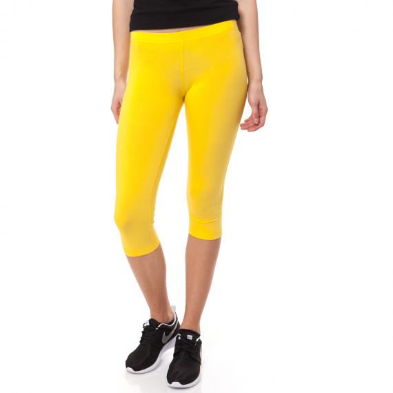 BODYTALK - Γυναικείο κολάν BODYTALK κίτρινο