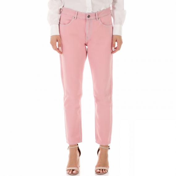 SCOTCH & SODA - Γυναικείο jean παντελόνι SCOTCH & SODA BANDIT ροζ