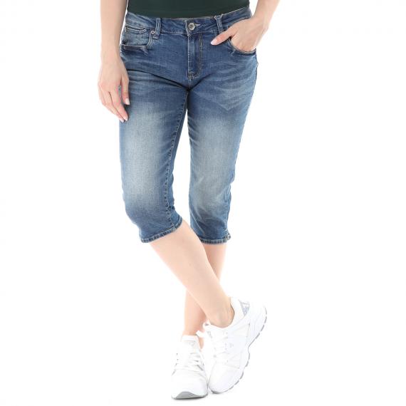 GARCIA JEANS - Γυναικείο κάπρι jean παντελόνι GARCIA JEANS Rachelle μπλε