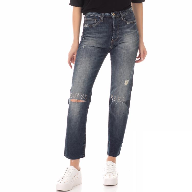 GUESS - Γυναικείο τζιν παντελόνι GUESS THE IT GIRL μπλε