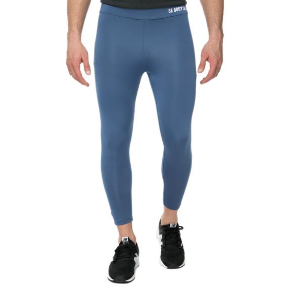 BODYTALK - Ανδρικό αθλητικό μακρύ κολάν TAPEITUPM 7/8 μπλε