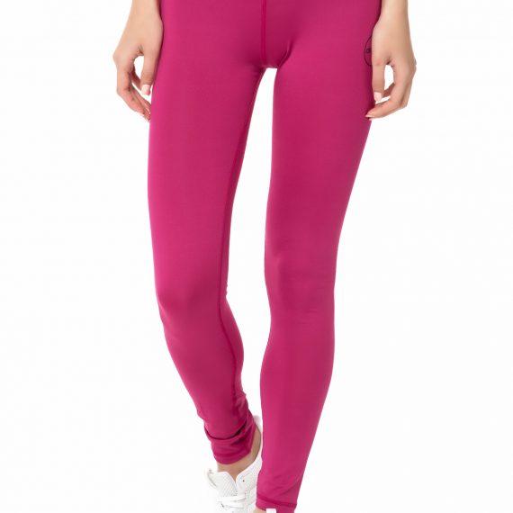 GSA - Γυναικείο μακρύ κολάν GSAHYDRO+ UP&FIT PERFORMANCE φούξια