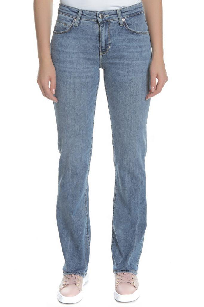 GUESS - Γυναικείο τζιν παντελόνι SEXY STRAIGHT GUESS μπλε